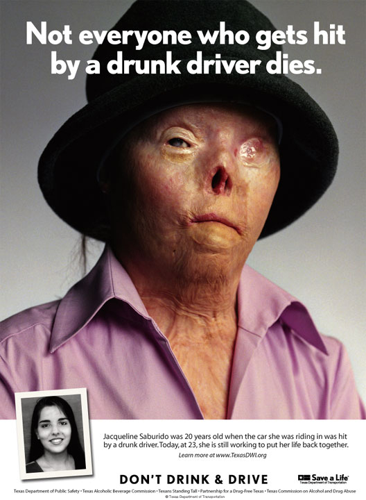 Drunk driving doesn't always kill.